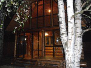 Алюминиевые раздвижные окна загородного дома