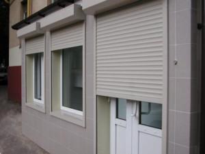 Рольставни на окна и двери с пультом
