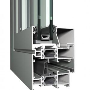 Алюминиевый профиль KRAUSS серия KRW57 KRD66