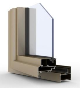 Алюминиевый профиль KRAUSS серия KRWD45