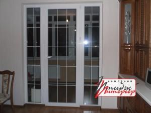 ПВХ-дверь на балкон