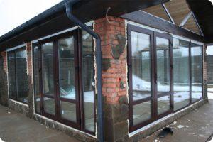Большие окна в пол