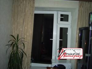 Окно из ПВХ с форточкой