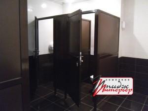 Туалетные кабины из ПВХ