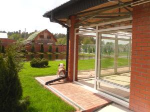 Раздвижные окна ПВХ PATIO