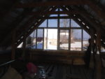 Окна ПВХ на крыше мансарды
