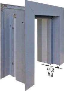 телескопическая дверь с коробкой
