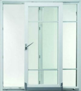 пластиковая дверь раздвижная
