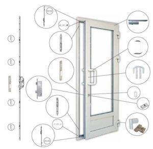 фурнитура пластиковых дверей