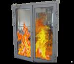 Двери противопожарные с многослойным стеклом