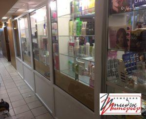 Перегородка витрина в магазин