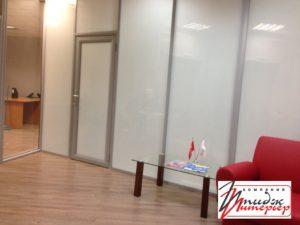 Перегородка зонирование офиса фото