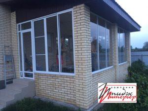 Алюминиевые окна на террасу фото
