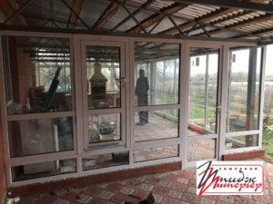 Двери окна ПВХ фото