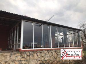 Алюминиевые радвижные окна в Рязани