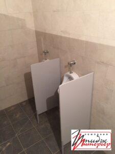 Перегородки туалетные для санузлов.
